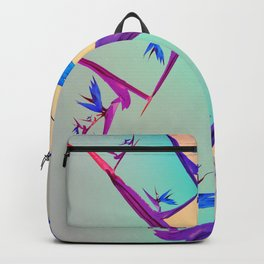 Impossible Floral Paradise 1 Backpack