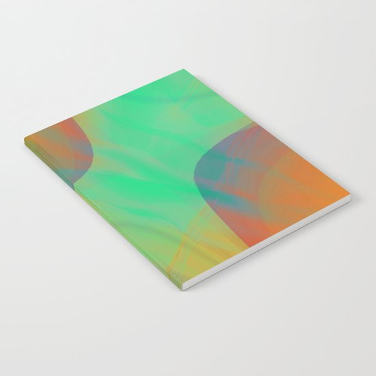 Multicolored abstract 2016 / 001 Notebook