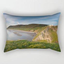 Rhossili bay Rectangular Pillow