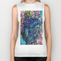 the 100 Biker Tanks featuring Abstract 100 by  Agostino Lo Coco