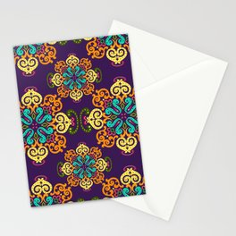 Ethnic Curlsley patterns-5 Stationery Cards