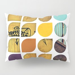 Cold Comfort Collage — Drippy Tag Pillow Sham