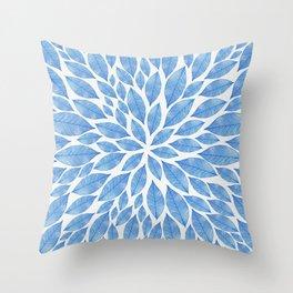 Petal Burst #24 Throw Pillow