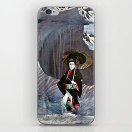 Out of the Cave, Into the Storm, the Hero Prepares for the Next Battle iPhone Skin