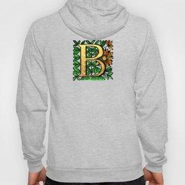 Monogram Alphabet Letter 'B' Hoody