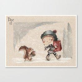 Illo Advent 12 Canvas Print