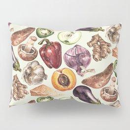Food Pattern Pillow Sham