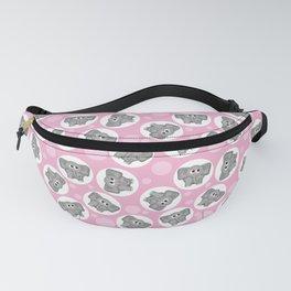 Cute Pink Elephant Fanny Pack