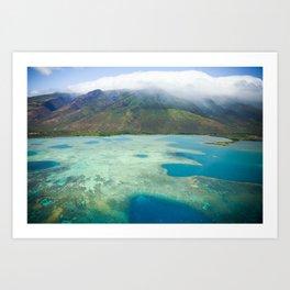 Hawaiian Shores Art Print