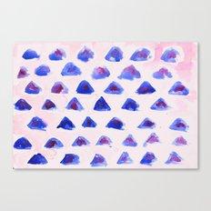 Mini Mountains Canvas Print
