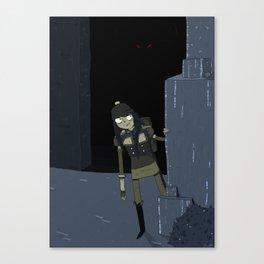 the scythian Canvas Print