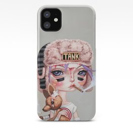Tank Girl and Booga iPhone Case