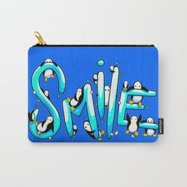 Smile Penguin Carry-All Pouch