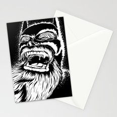 Too old for this job. Stationery Cards