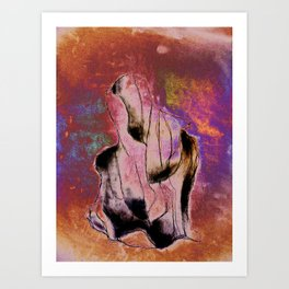 MONOLITOCONVEXO Art Print