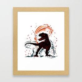 Dinosaur Part 2 Framed Art Print