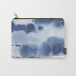 Navy Watercolour Abstract 1 Carry-All Pouch