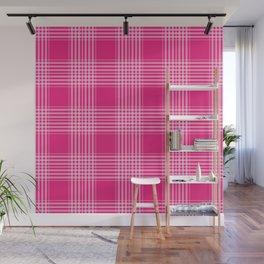 Pink Pattern Design Wall Mural