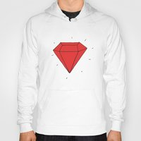 ruby Hoodies featuring Ruby  by Normandie Illustration