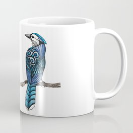 Blue Jay Totem Coffee Mug