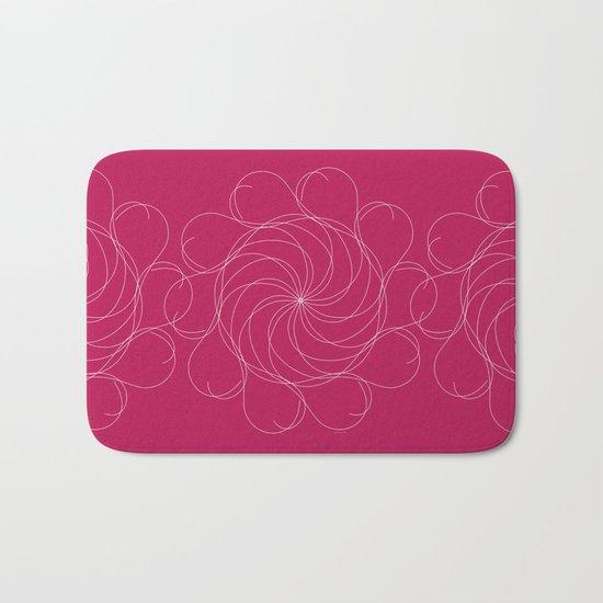 Ornament – Turning Flower Bath Mat