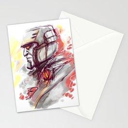 SAD MEGATRON Stationery Cards
