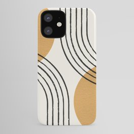 Sun Arch Double - Gold iPhone Case