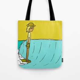 hang 10 dude pavones land of the lefts Tote Bag