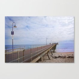 Jetty Jumping Canvas Print