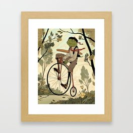 Morning Ride Framed Art Print
