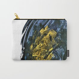 """Gold Mine"". Phthalo Green Series, No. 12. Carry-All Pouch"