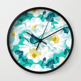 Mount Cook Lily Wall Clock