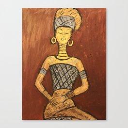 Nbdele Woman Canvas Print