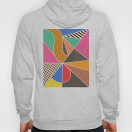 color segments 003 Hoody