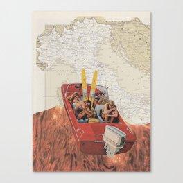 Lava Canvas Print