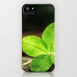 Clover_003_by_JAMFoto iPhone Case