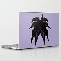millenium falcon Laptop & iPad Skins featuring Falcon by Daniella Walker