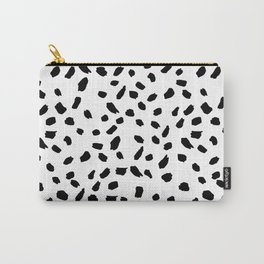 Brush Stroke Dots Carry-All Pouch