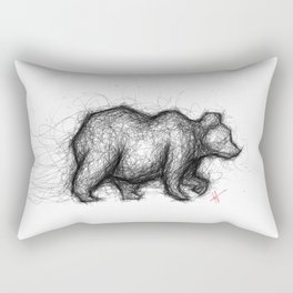 The Bear Necessities Rectangular Pillow