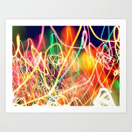 Sea of Lights Art Print