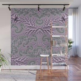 Floral Fantasy 05 lilac Wall Mural