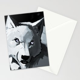 Wolf 4 Stationery Cards