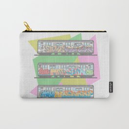 New York Subway System Carry-All Pouch