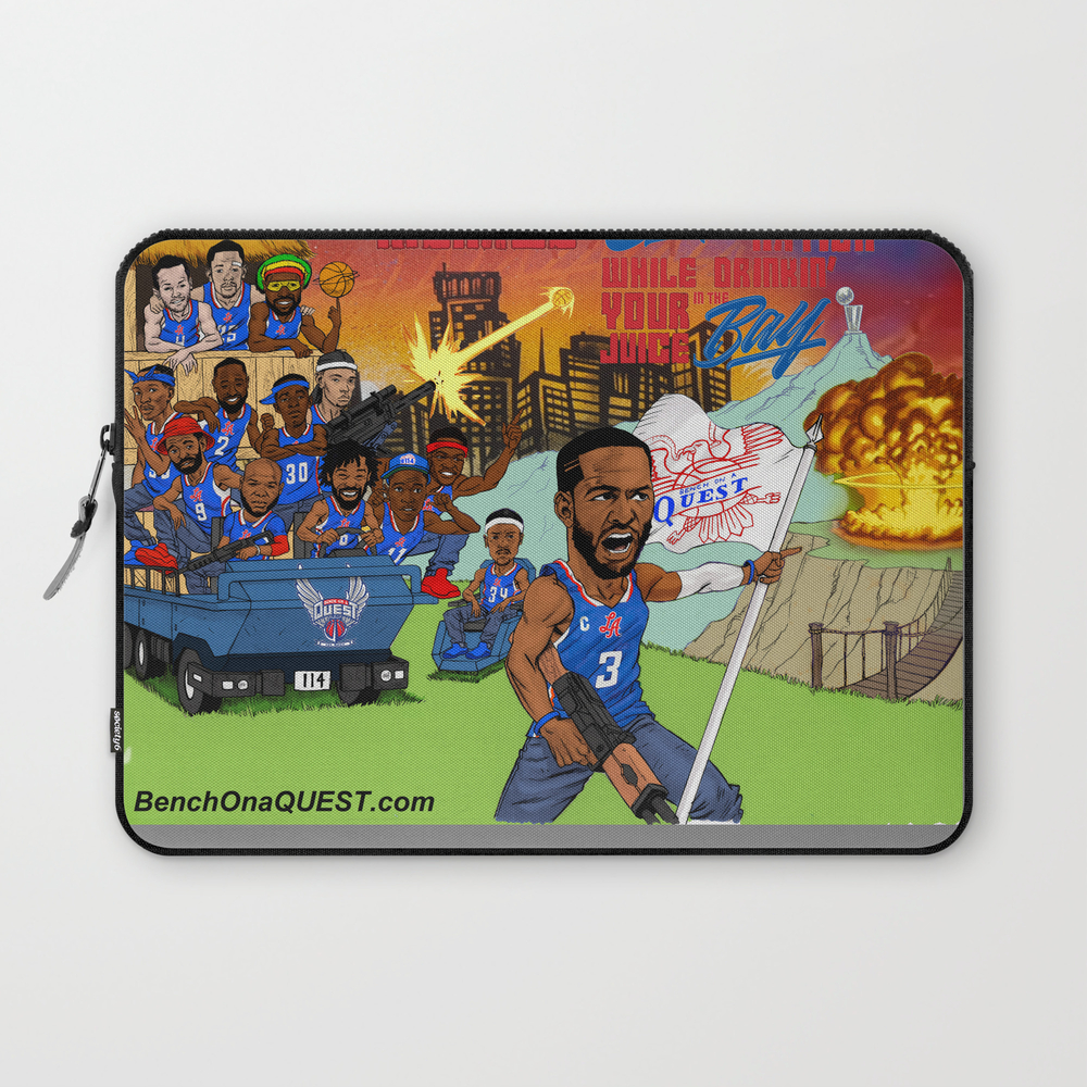 Don't Be A Menace To Clipset Nation Laptop Sleeve LSV8951593