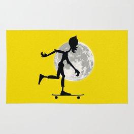 Friendly Zombie On The Go - Longboard Rug