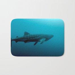 Whale shark juvenile Bath Mat