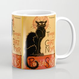 "Théophile Steinlen ""Tournée du Chat Noir"" Coffee Mug"