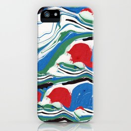 Good Morning Marble Painting iPhone Case