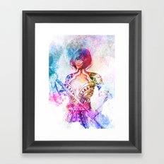 Amesha Framed Art Print