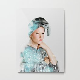 effie trinket Metal Print